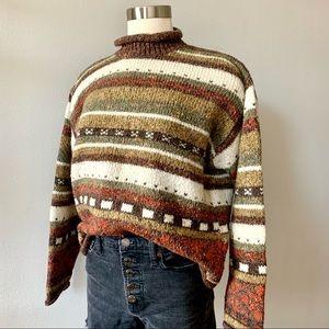 Vintage '80s grandpa sweater St. John's Bay L